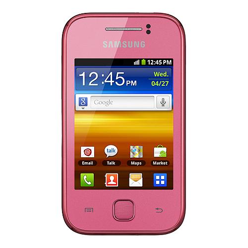 S5360 Galaxy Y Pink