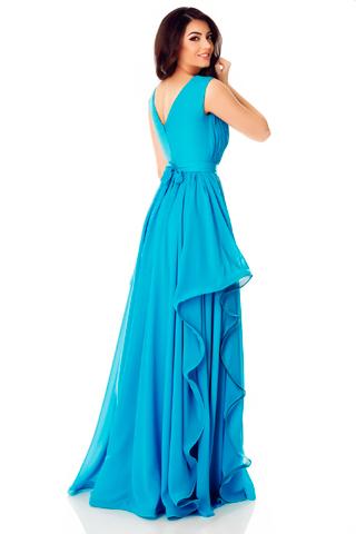 rochie eleganta ema turqoise