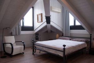 amenajare dormitor mic - minimalist