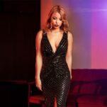 Rochie de seara eleganta Jane revelion lunga paiete reduceri online 05